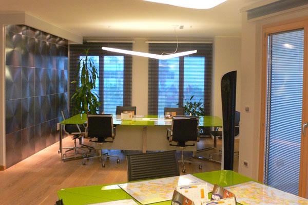 Come progettare il comfort visivo di un edificio per uffici