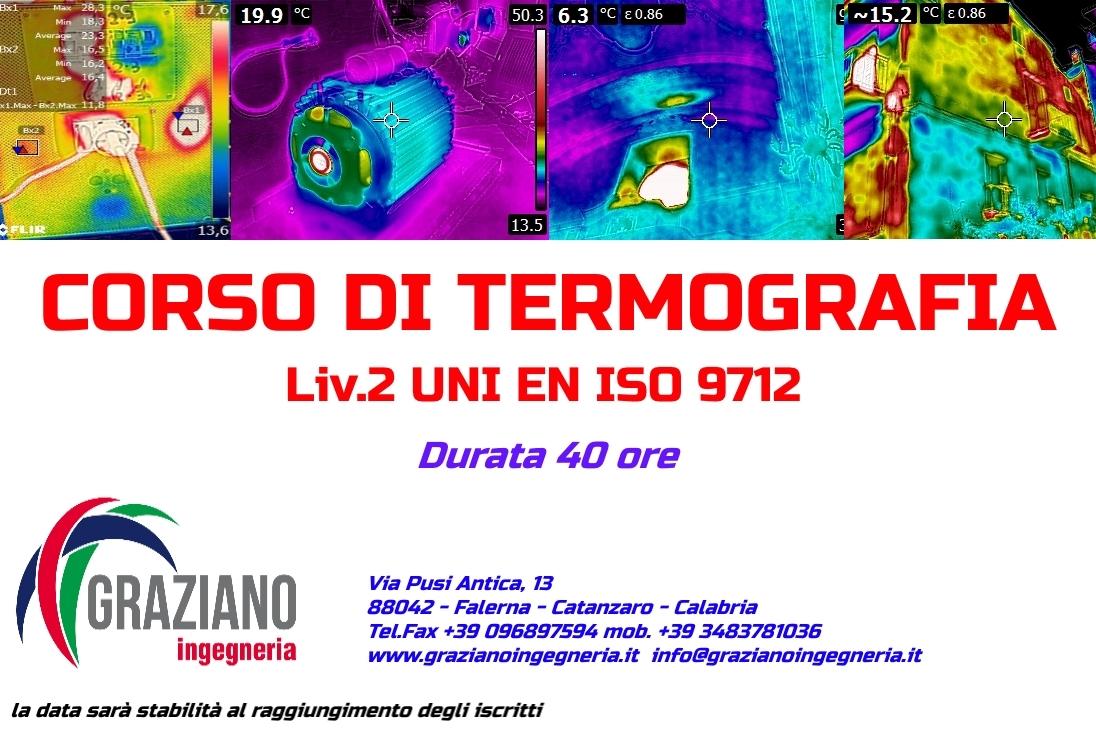 CORSO TERMOGRAFIA LIVELLO 1 & 2