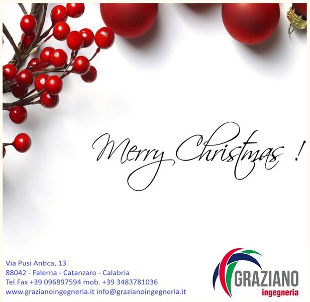 Buone Feste dalla Graziano Ingegneria