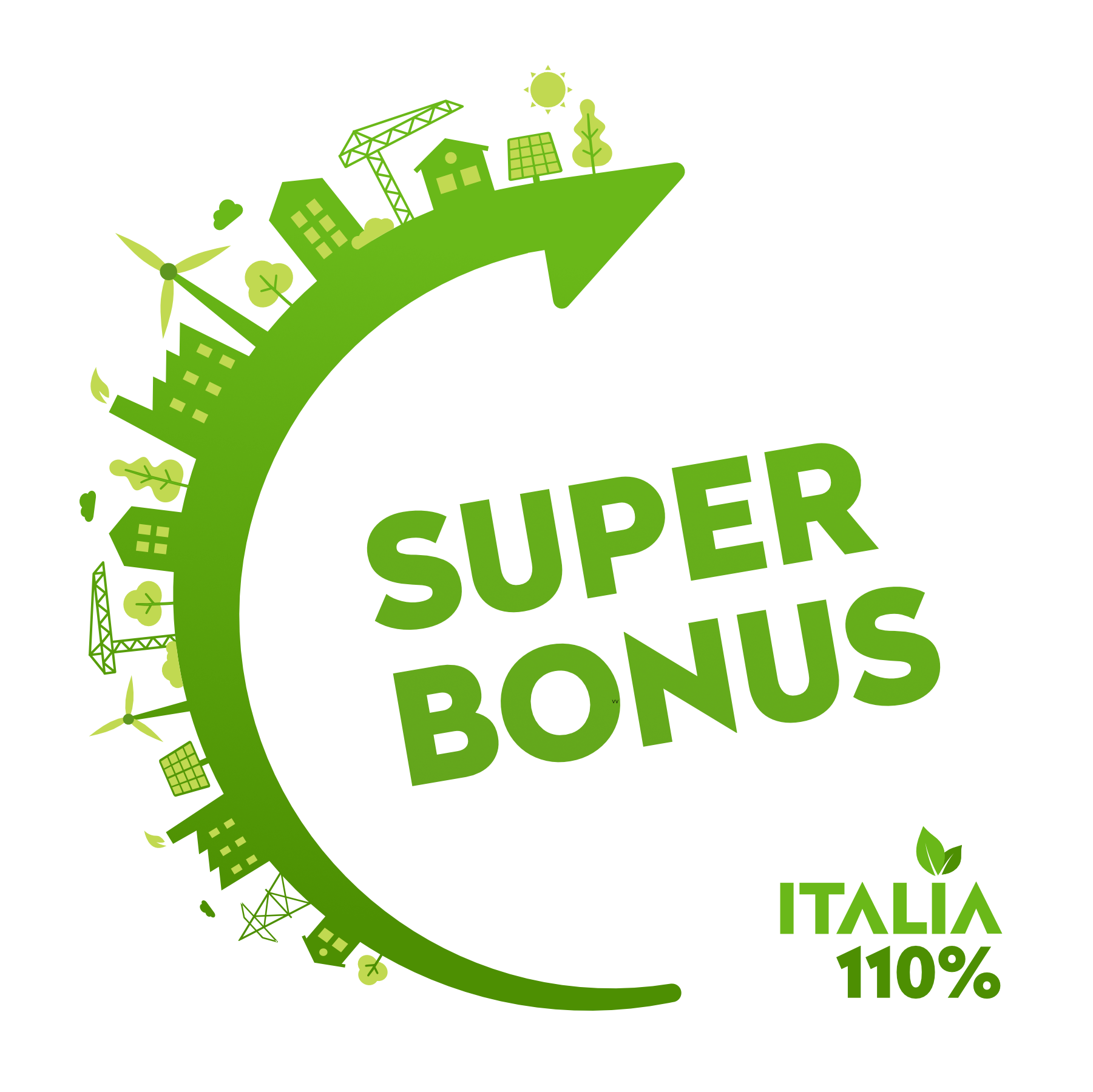 Superbonus: ecobonus e sismabonus potenziati al 110%